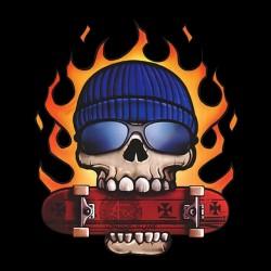 tee shirt skate or die black sublimation