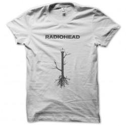 tee shirt Radiohead   sublimation