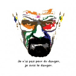 tee shirt heisenberg quote  sublimation
