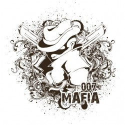 tee shirt 007 mafia white...