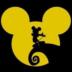 shirt Mickey black sublimation