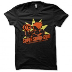 tee shirt super saiya gym...