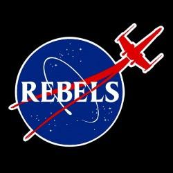 rebels black sublimation t-shirt