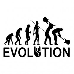 tee shirt evolution rock...