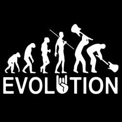 tee shirt evolution rock  sublimation