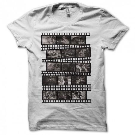 Tee shirt Gore movies B&W film strip  sublimation