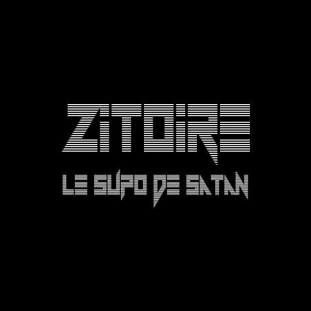 T-shirt Les Inconnus Zitoire superstar of Satan black sublimation
