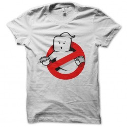 ghost lego t-shirt white sublimation