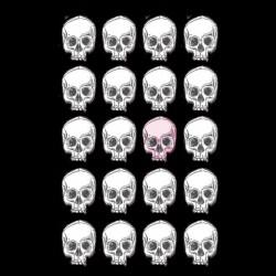 tee shirt Skulls pattern  sublimation