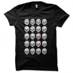 tee shirt Skulls pattern...
