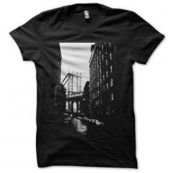 New York Brooklyn t-shirt black sublimation