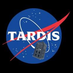 tee shirt Tardis black sublimation