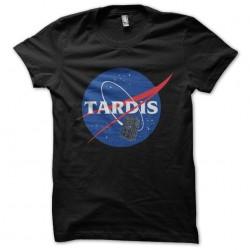 tee shirt Tardis black...