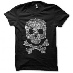 dragonball skull tee shirt...