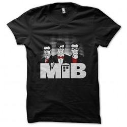 T-shirt black sublimation MIB