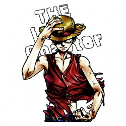 t-shirt monkey d luffy...