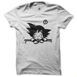 tee shirt goku  sublimation