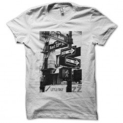 New York 5th Avenue tee-shirt white sublimation