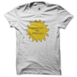 tee shirt canicule on t'encule  sublimation