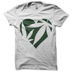 tee shirt heart of weed...