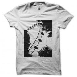 London big wheel London Eye white sublimation t-shirt
