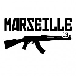 Marseille 13 white sublimation t-shirt