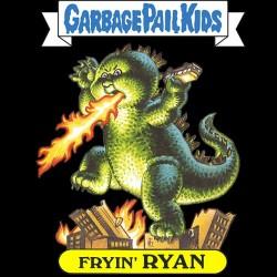 Fryin Ryan t-shirt black sublimation