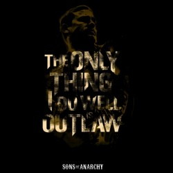 tee shirt The only thing i do will is out law  sublimation
