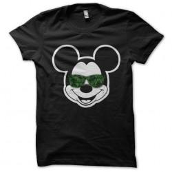 tee shirt weed mickey black...