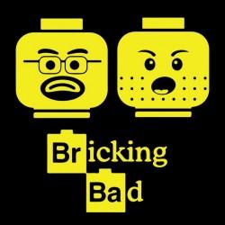 Bricking bad black sublimation tee shirt