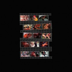Tee shirt Gore movies color film strip  sublimation