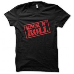 t-shirt rock n roll black...