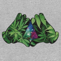 tee shirt The Weed Galaxy...