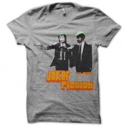 Joker Fiction t-shirt gray...