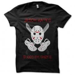 t-shirt jason hates black...