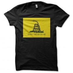 Do not Tread me black sublimation t-shirt