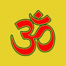 t-shirt hom bouddist yellow sublimation