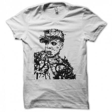 JayZ artwork white sublimation t-shirt