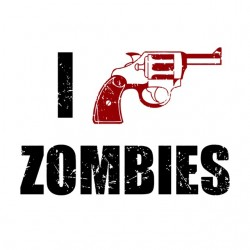 tee shirt I Shotgun Zombies...