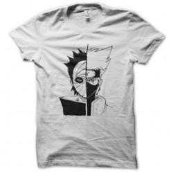 t-shirt tobi kakashi naruto white sublimation
