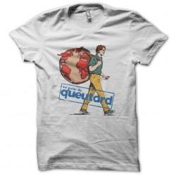 Tee shirt Guide du routard parodie Guide du queutard  sublimation