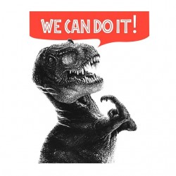tee shirt we can do it...