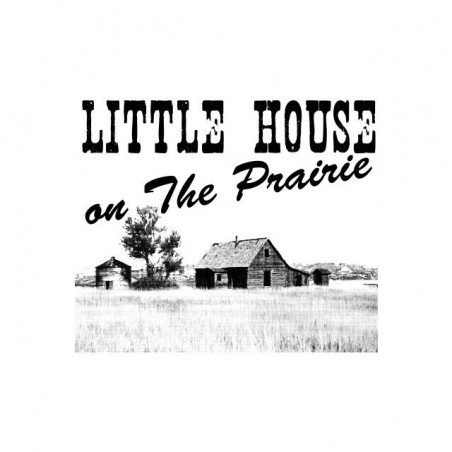 The little house in the prairie white sublimation t-shirt
