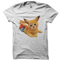 tee shirt catkachu  sublimation