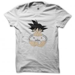 tee shirt goku real madrid...