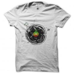 reggae music white sublimation t-shirt