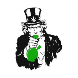 uncle sam smoke weed tee...