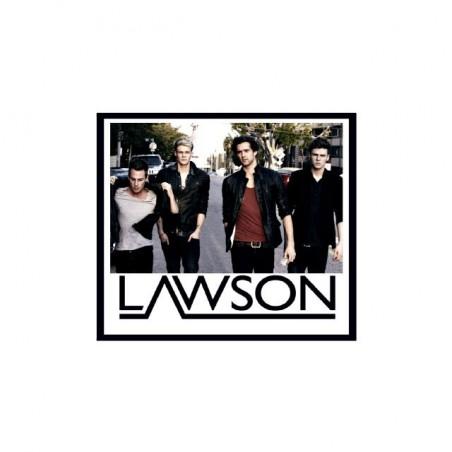 Lawson fan art white sublimation t-shirt