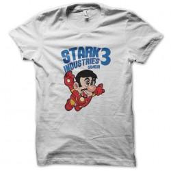 tee shirt stark industries iron man 3  sublimation