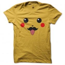pikachu yellow mustache...